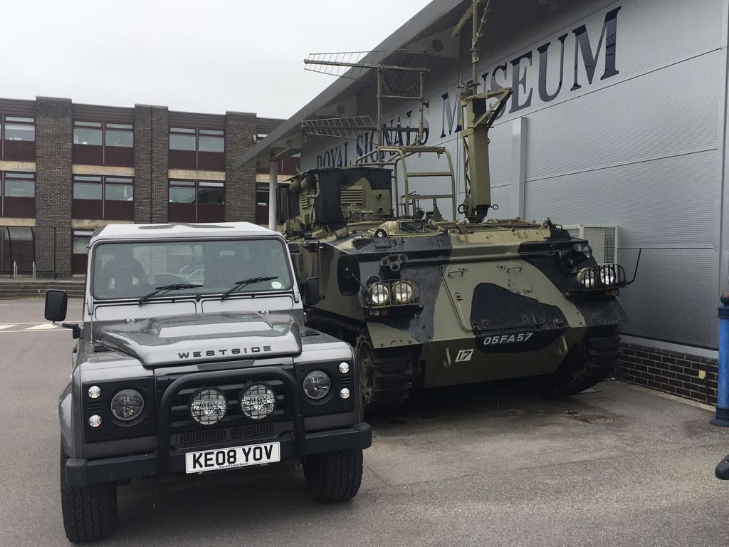 Royal Signals Blandford visit