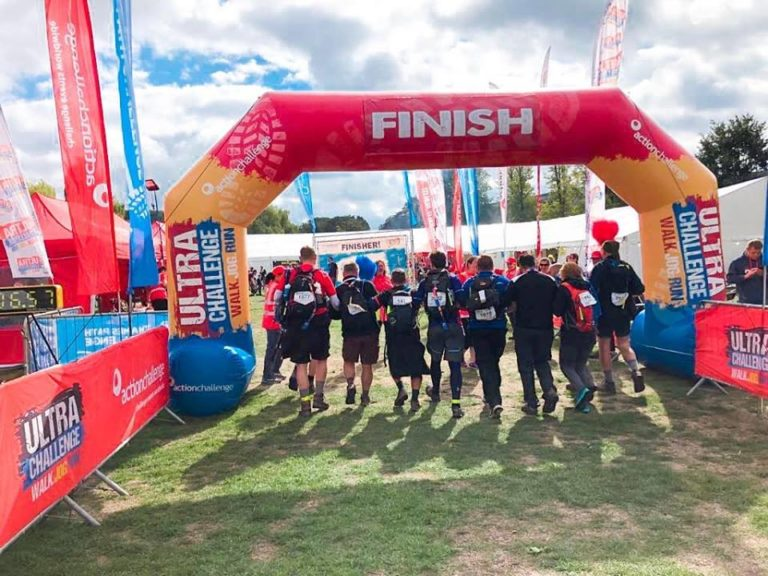 Thames Path Challenge -Finishers Photo